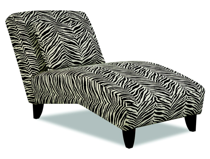 Pin by melissa behrens on for the home pinterest for Animal print chaise lounge