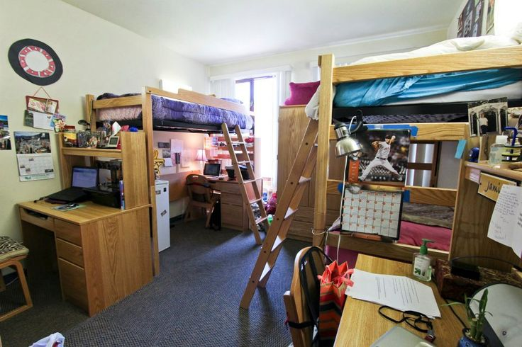 Dorm room set up college dorm room pinterest Dorm room setups