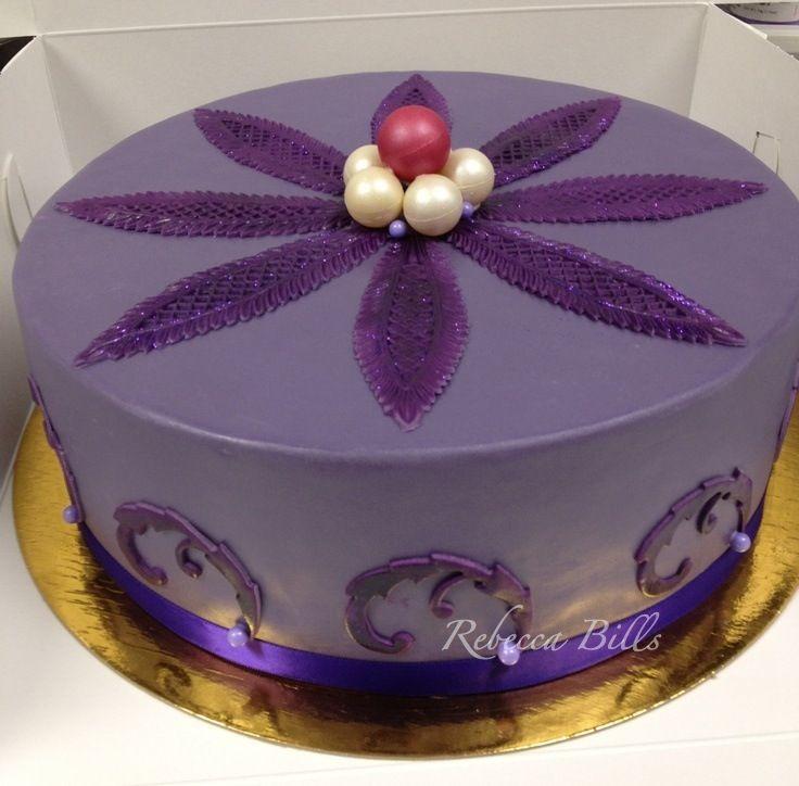 Blackberry mousse cake @ Public House, Venetian Las Vegas