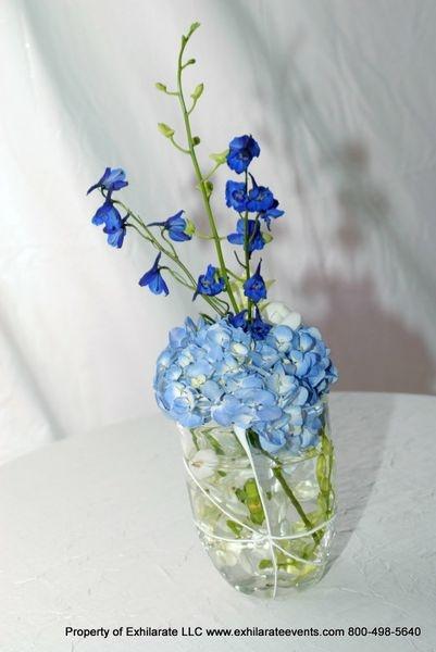 Mason jar flower arrangements weddings