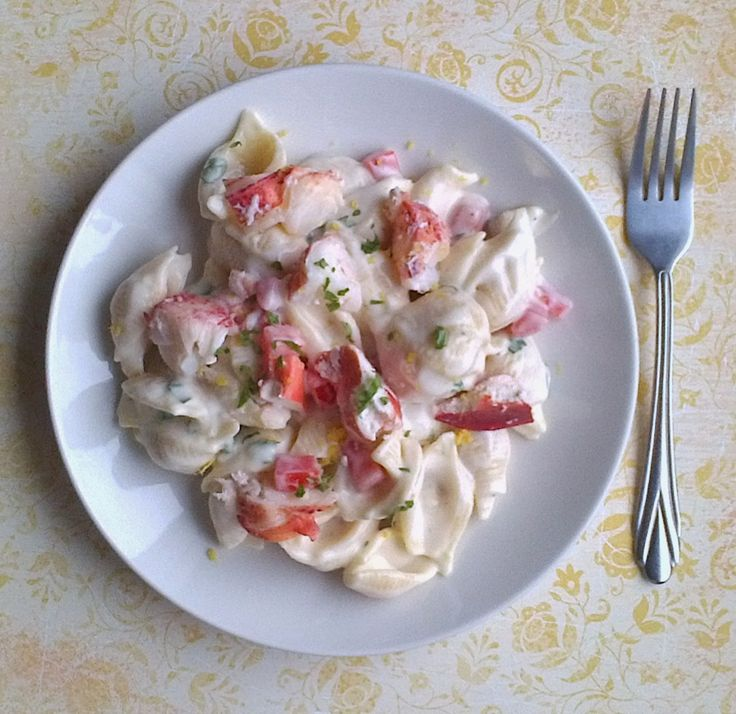 Lobster Mac 'n Cheese with tomato, basil, lemon, & white cheddar ...