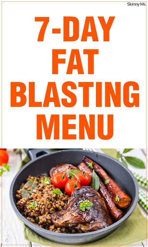 7-Day Fat-Blasting Menu