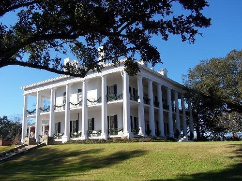 Dunleith Plantation in Natchez, MS built 1856 -- LOVE