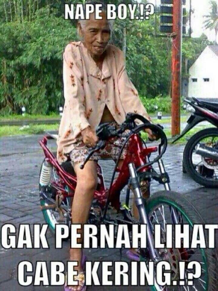 quot;cabe keringquot; _quot; xD  Luculucuan Bahasa Indonesia