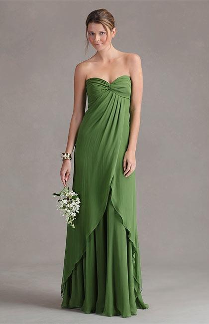 Clover Green Bridesmaid Dresses - Overlay Wedding Dresses