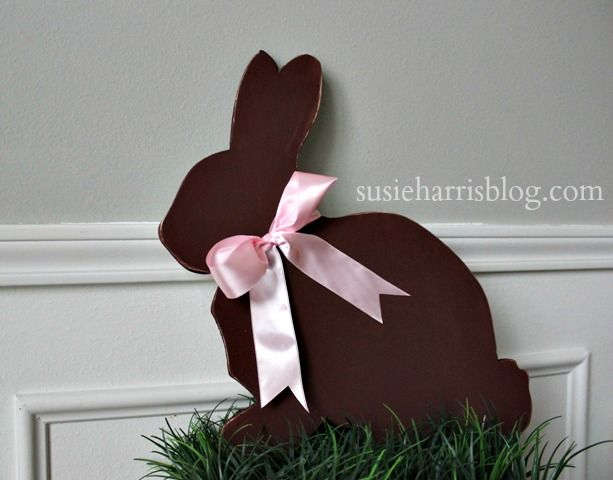 Susie Harris: DIY Easter Bunny