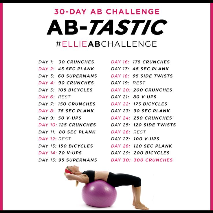 Hey @Laura Jayson Lupei wanna do this to get motivated/kick our butts? 30 Day Ab Challenge! #abs #challenge #workout