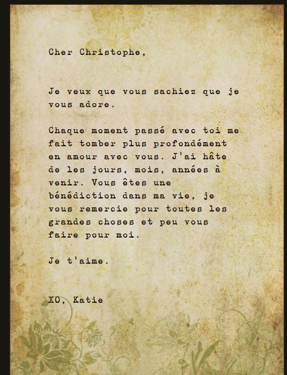 How to Write a Love Letter: Inspiration from Beauvoir and Sartre