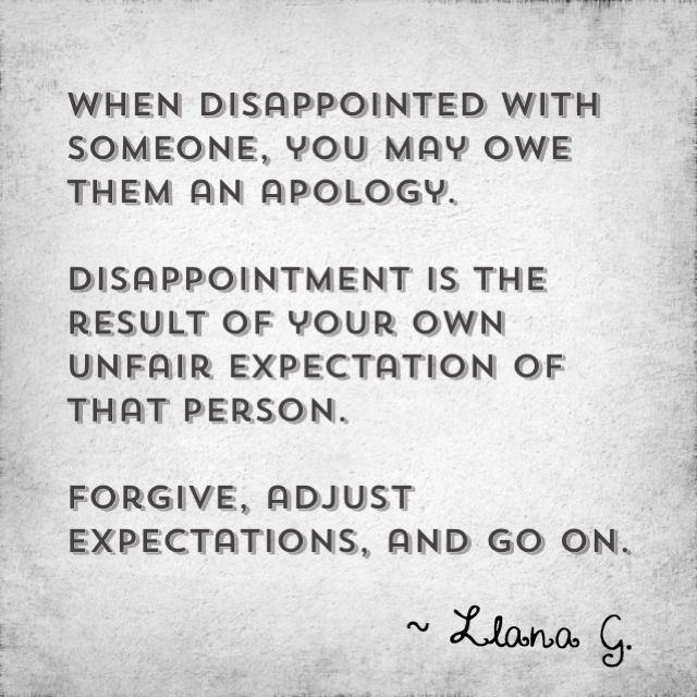 Quotes About Disappointment In Others. QuotesGram