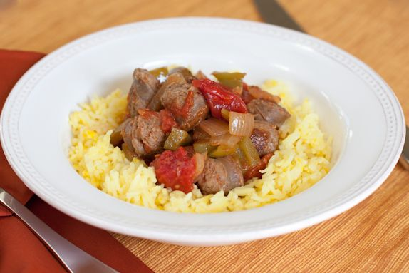 Sausage, Peppers And Onions With Saffron Rice Recipes — Dishmaps