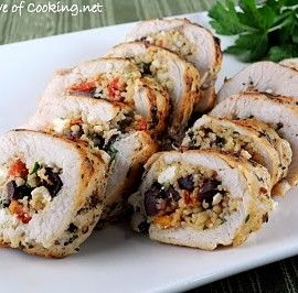 Couscous stuffed chicken breasts. say bulgur, couscous or quinoa and ...