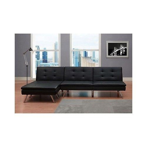 Modern adjustable convertible couch sofa bed sleeper chair ottoman fu