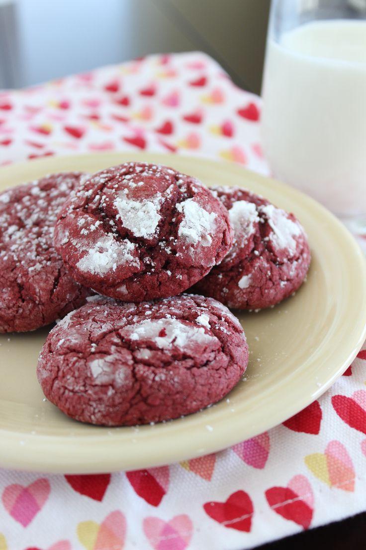Red Velvet Crinkle Cookies | Recipe