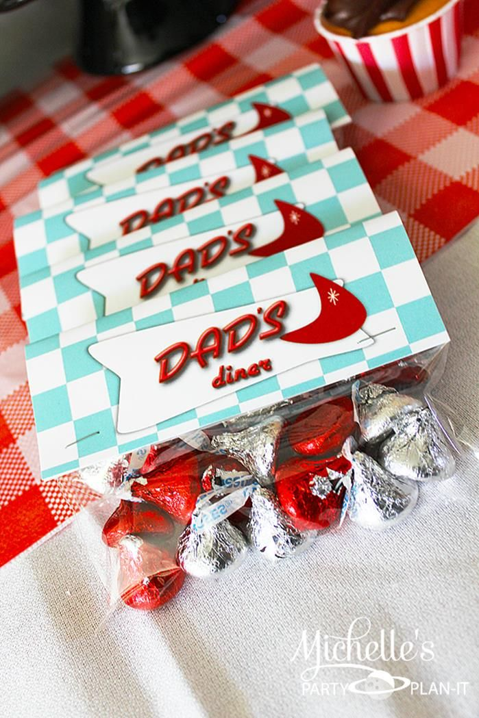 Retro 1950 39 s dad 39 s diner father 39 s day party planning ideas for 1950s party decoration