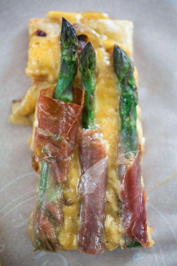 ... Asparagus, Prosciutto & Caramelized Onion Tart | {love+cupcakes} Blog