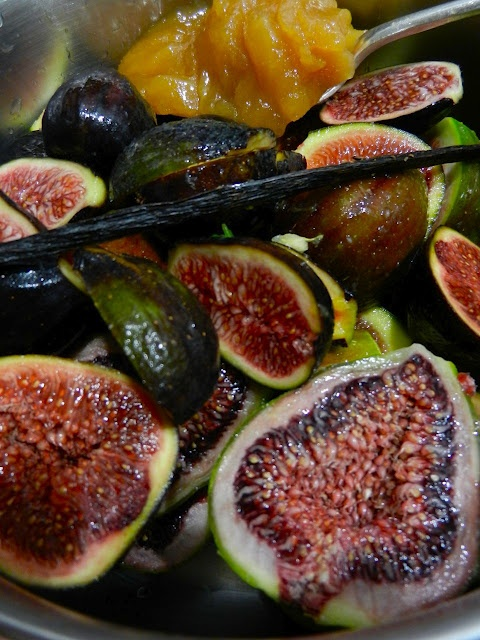 wonderful slow cooked figs