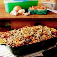 Eggplant Parmigiana Pasta Bake | Recipe