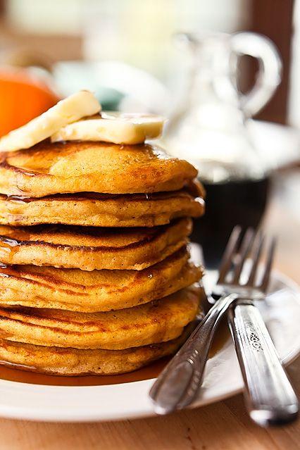 Pumpkin Pie Pancakes | Favorite Recipes | Pinterest