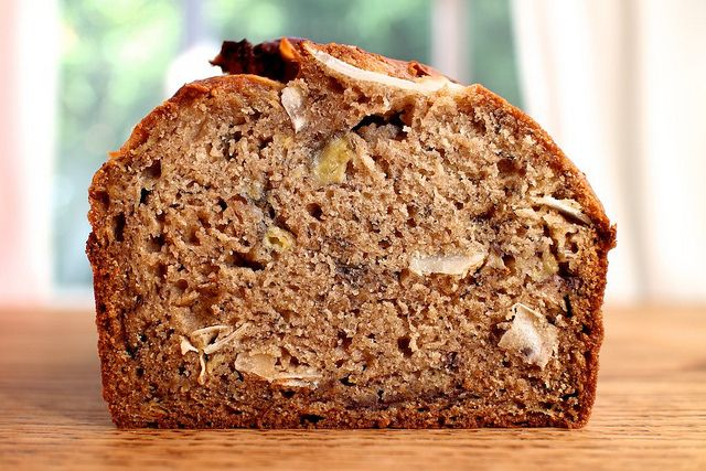 Brown Butter Banana Bread with Rum and Coconut by joy the baker, via ...