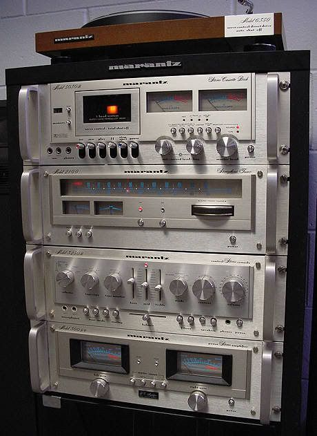 vintage marantz vintage stereo equipment pinterest. Black Bedroom Furniture Sets. Home Design Ideas