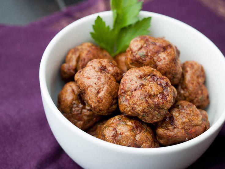 Merguez Meatballs, used half smoked paprika, half regular, no fennel ...