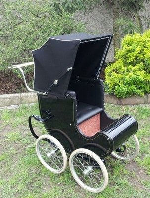 1940 DUNKLEY Victoria coachbuilt vintage pram pushchair PERFECT all restored | eBay