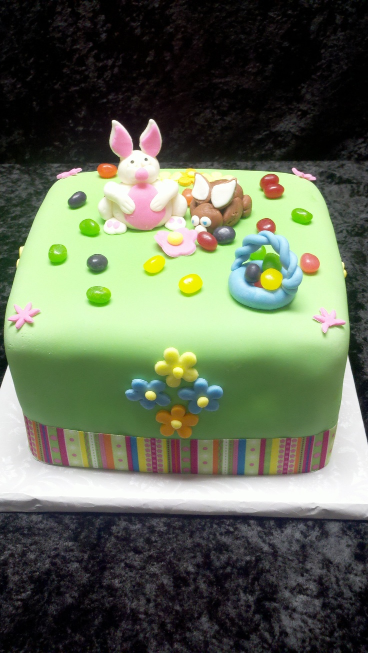 Easter Cake With Handmade Decorations Cakes I Have Made