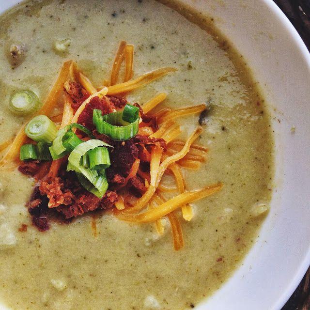 Broccoli potato cheese soup | Recipes-Soups | Pinterest