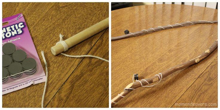 Diy magnetic fishing pole school pinterest for Magnetic fishing pole