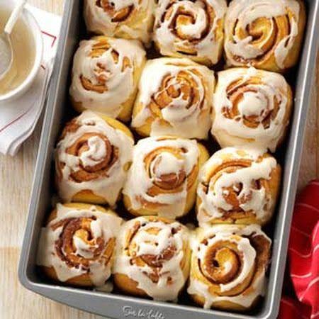 Overnight Cinnamon Rolls Recipe | YuMmY | Pinterest