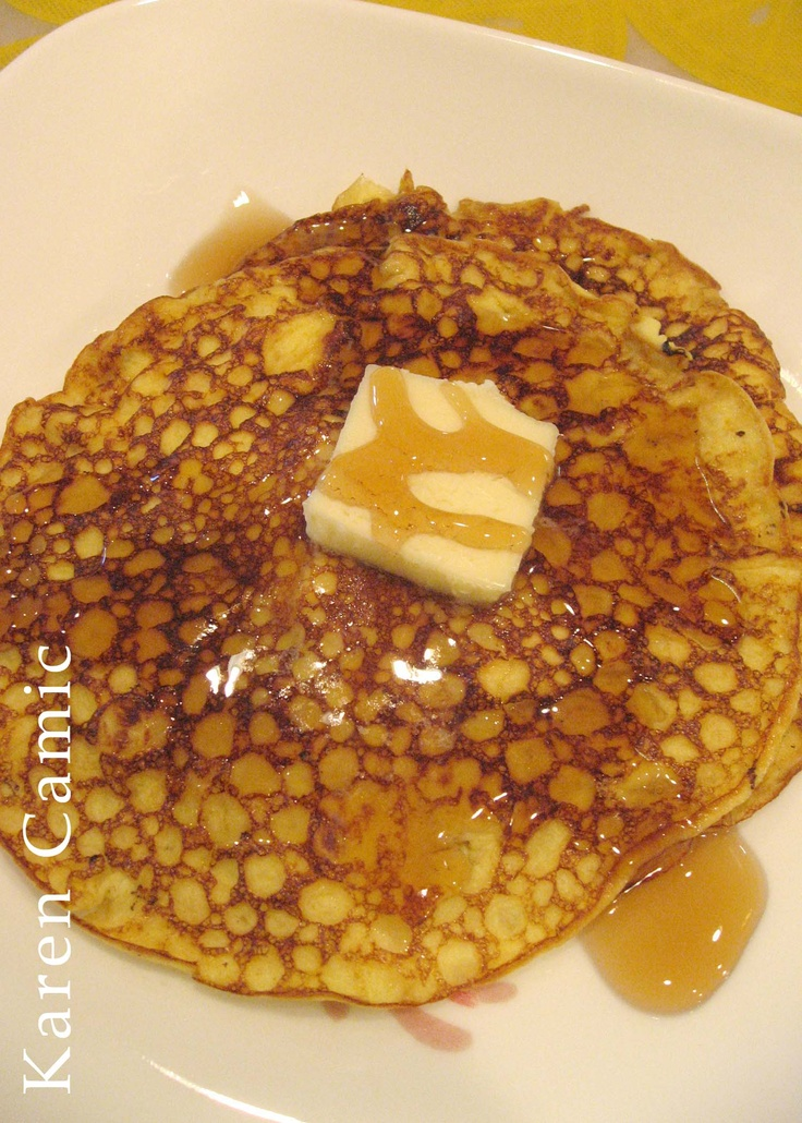 Cream Cheese Pancakes - Delicious - followed recipe from ...