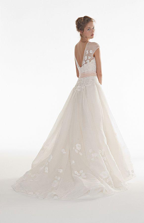 Waking up gown by peter langner weddings pinterest for Peter langner wedding dress