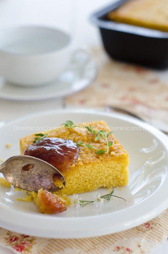 Pan de maiz (Cornmeal bread) | Recipe
