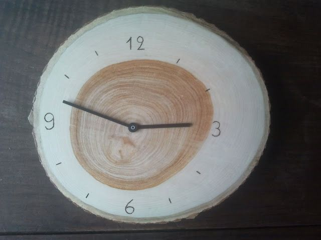 Wood RUSCH clock | IKEA Hackers Clever ideas and hacks for your IKEA