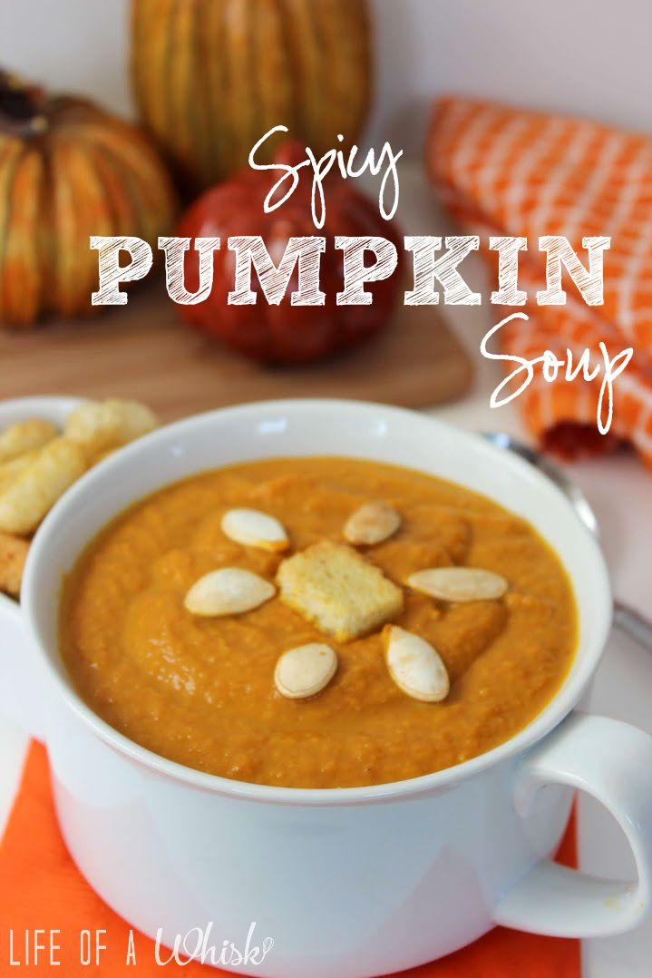 Spicy Pumpkin Soup | Food And Drink | Pinterest