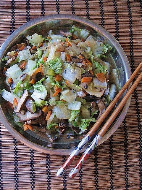 Stir-Fry Napa Cabbage | Foodie's pleasure | Pinterest