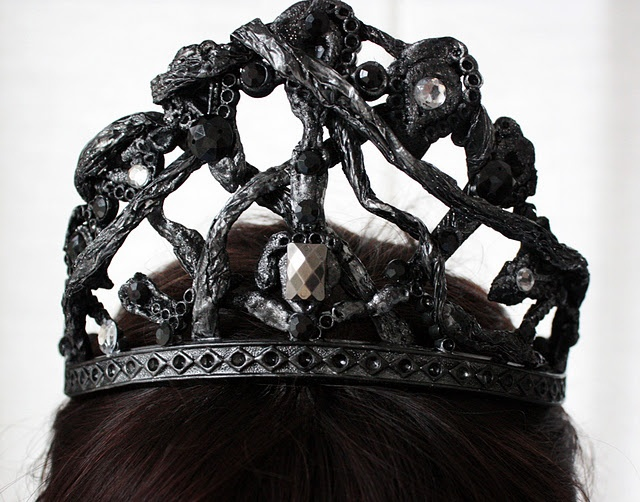 Black swan crown template - photo#4