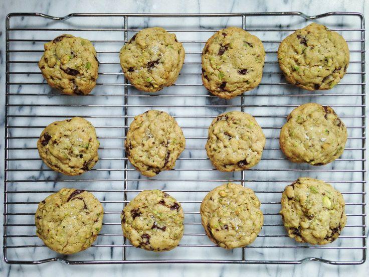 Salty Triple Chocolate Pistachio Cookies Recipes — Dishmaps