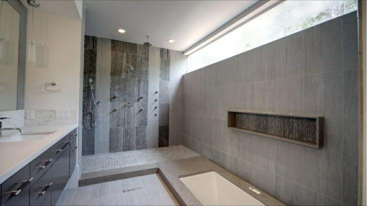 Open Wet Shower Room Compact Ensuite Bathroom