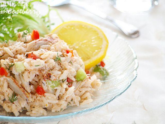 Crab salad | Recipes - Salads | Pinterest