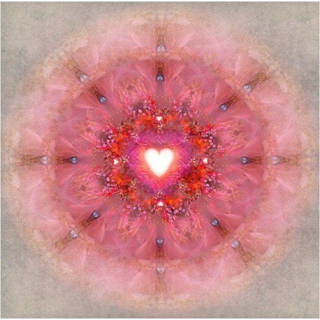 Heart mandala heart love pinterest - Cosas para atraer el dinero ...
