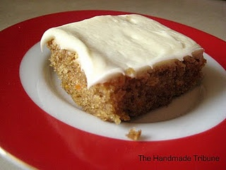 Carrot Bars with Cream Cheese Frosting | Delicious! | Pinterest