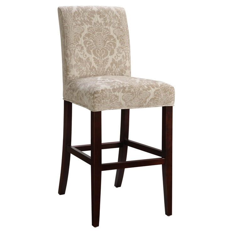 Slip Over Upholstered Bar Stool By Powell Counter