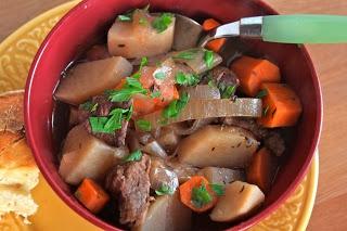 Irish Beef Stew - slow cooker