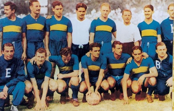 CLUB ATLÉTICO BOCA JUNIORS. Campeón de 1944.