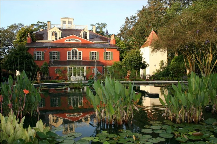Houmas House Plantation And Gardens Water Gardens Pinterest