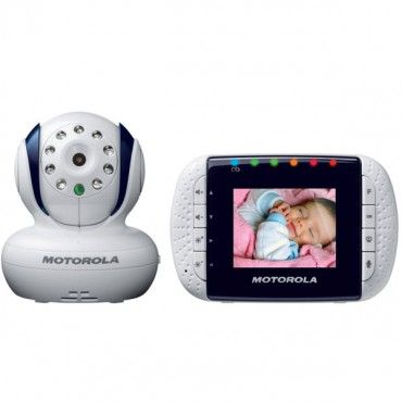 With compelling sound quality, the Motorola Digital Video Baby Monitor With 3.5-Inch Color LCD Screen also features built-in data encryption for extra security. It also has a range of up to 200 meters. www.rightstart.com. $239.99