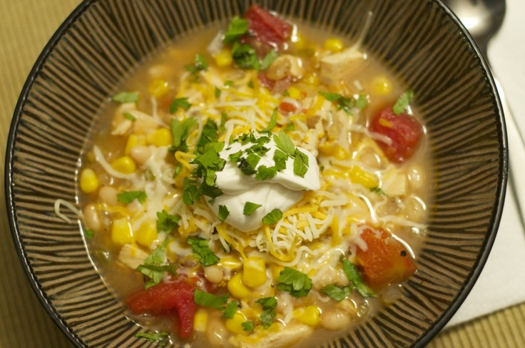 Chicken Chili. Super Easy Recipe! | Recipes to try | Pinterest