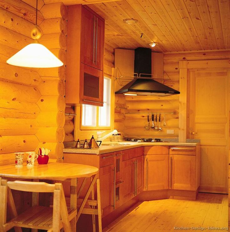 Log cabin kitchen cabinets bing images log homes for Cabin style kitchen cabinets