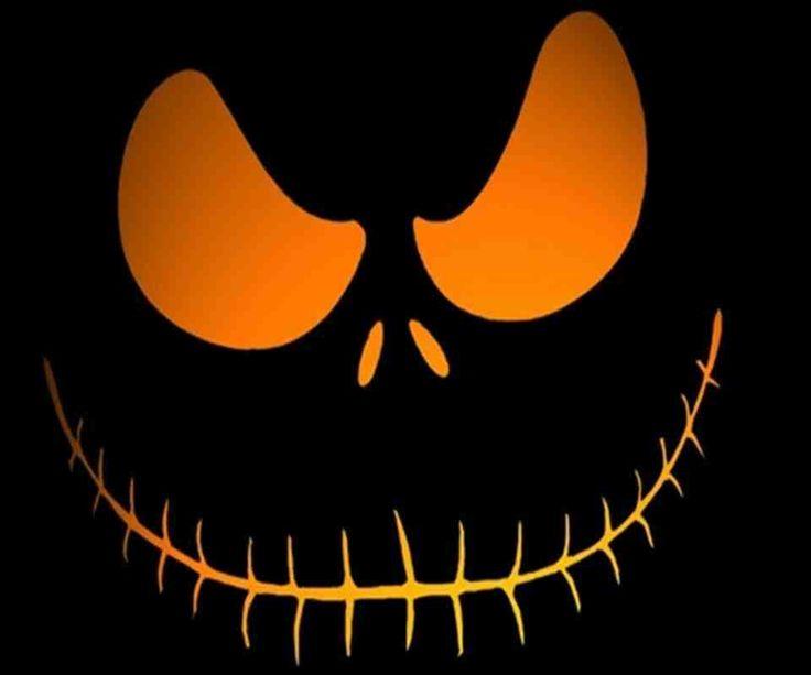 Scary Pumpkin Face Random Stuff Pinterest
